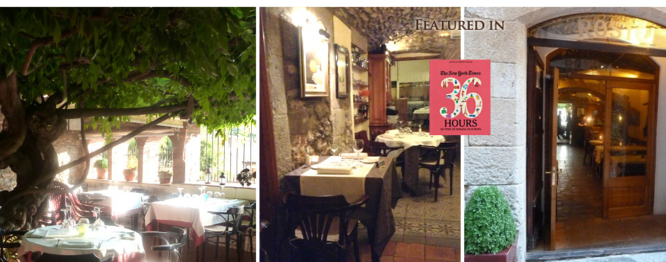 restaurant rostei begur spain about